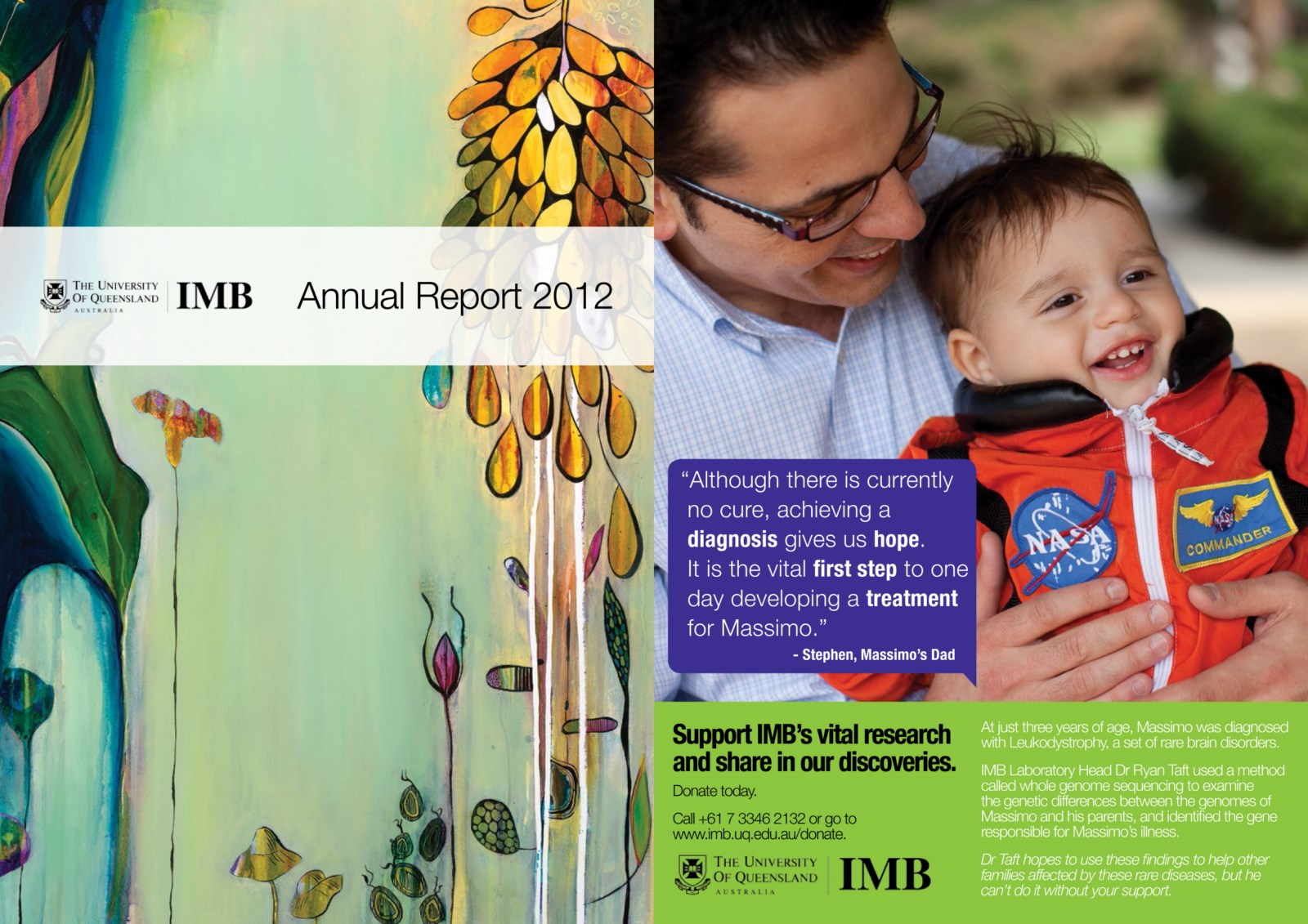 UQ IMB Annual Report 2012